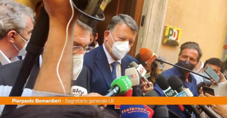 """Epifani, Bombardieri: """"Giornata triste per il sindacalismo"""""""