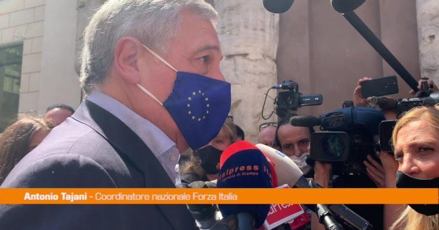 """Amministrative, Tajani: """"Campagna all'insegna dell'unità"""""""
