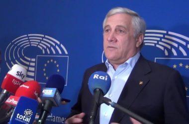 """Tajani """"Nel 2023 centrodestra vincerà le elezioni"""""""