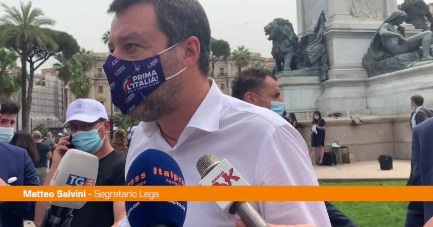 """Ddl Zan, Salvini: """"Le richieste della Chiesa sono le nostre"""""""