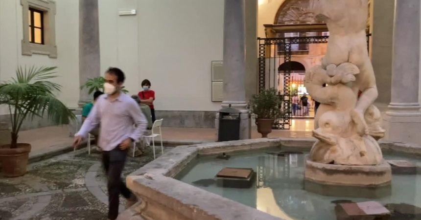 Covid, a Palermo vaccini al museo con visita omaggio
