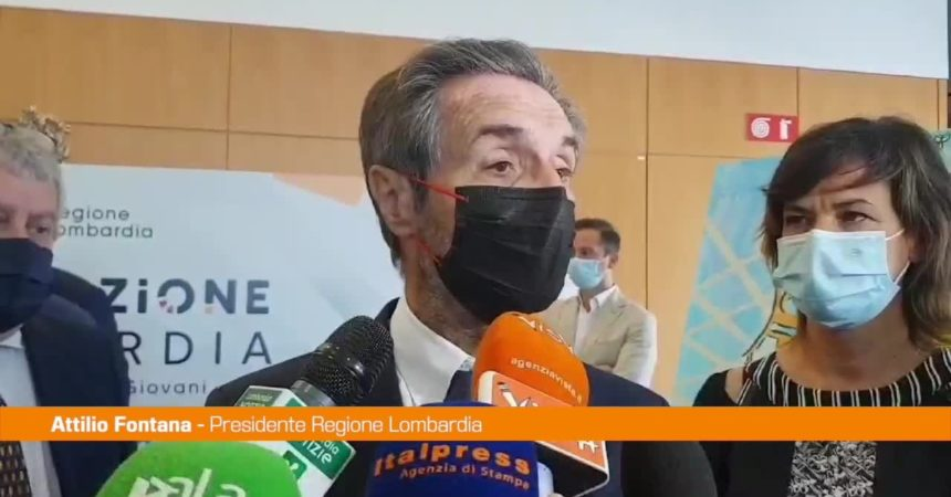 "Fontana: ""Dal 14 giugno Lombardia in zona bianca"""