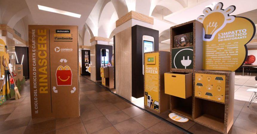 Al via a Roma la 1^ tappa del roadshow della sostenibilità di McDonald's