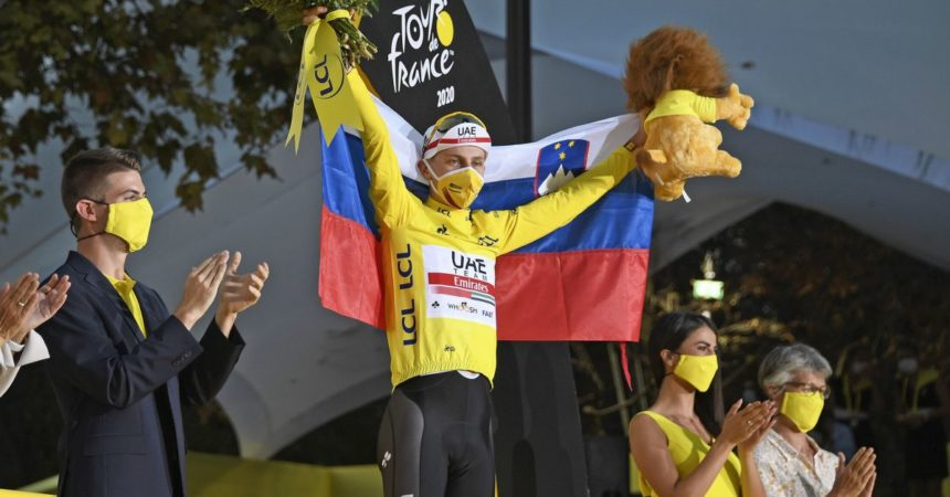 Konrad vince la 16^ tappa del Tour, Colbrelli secondo