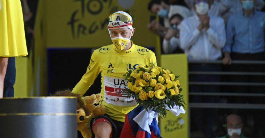 Pogacar vince in maglia gialla la 17^ tappa del Tour