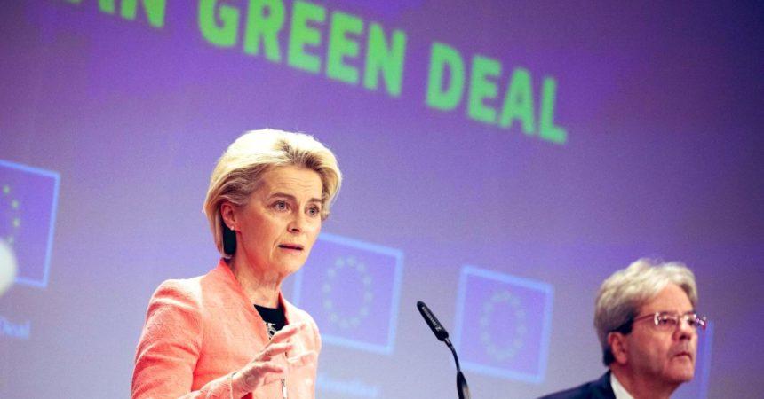 La Commissione Ue svela il pacchetto Clima, -55% CO2 entro il 2030