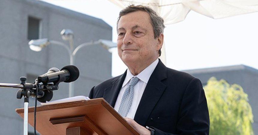 """Draghi """"Settore assicurativo importante per rilancio Paese"""""""