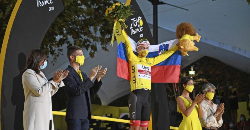 Al Tour Pogacar saldamente in giallo, bis di Mohoric a Libourne