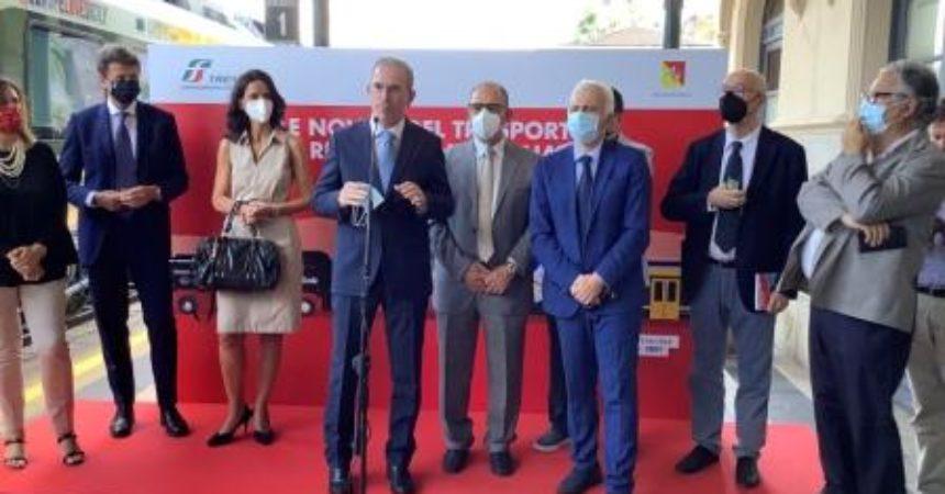 """Treni pop, Falcone """"Trasporto su ferro in Sicilia non più secondario"""""""