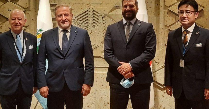 Capitani Reggenti e Segretario di Stato di San Marino a Tokyo