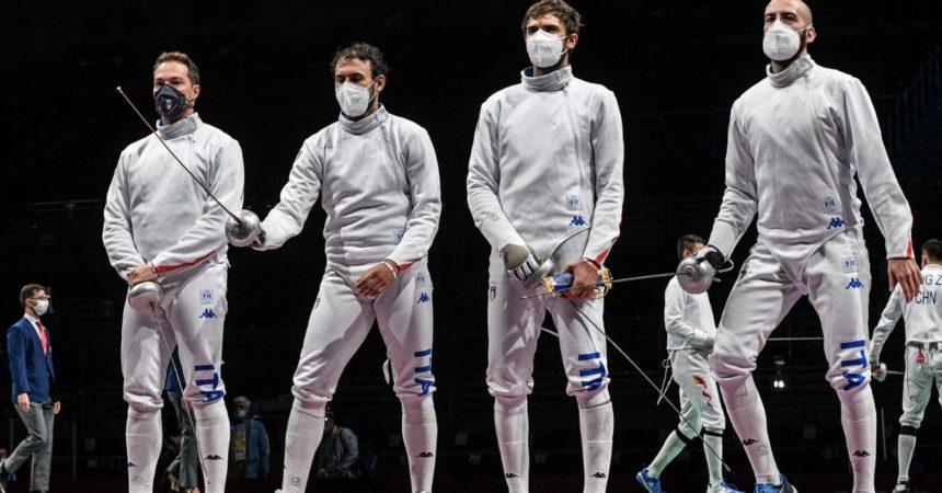 Tamberi in finale nell'alto a Tokyo, deludono azzurri della spada