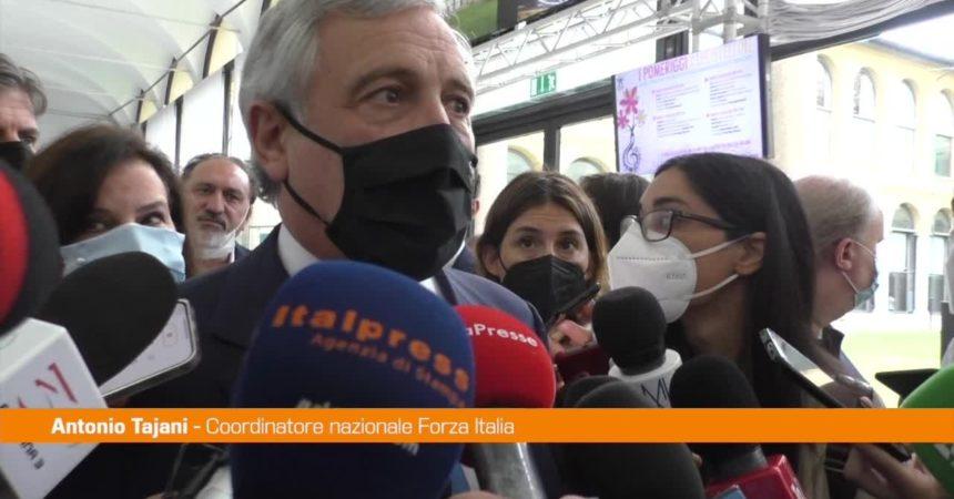 """Tajani: """"Green Pass utile, ma no obbligo vaccinazione"""""""