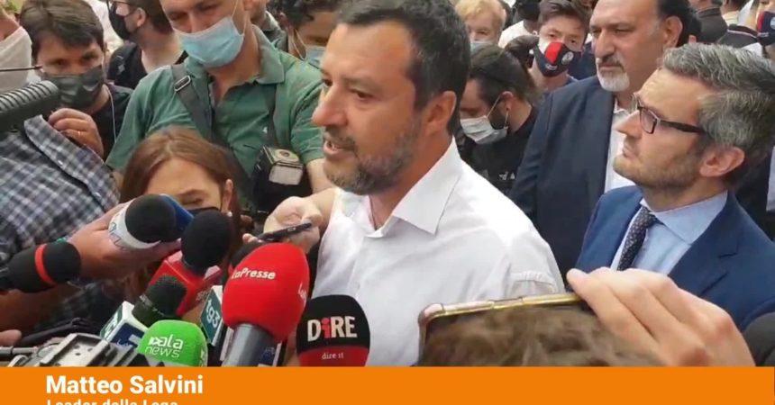 """Covid, Salvini """"Attenzione ma non allarmismo"""""""