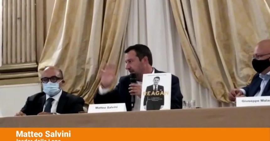 """Covid, Salvini """"Cautela ma no a paura e terrore"""""""