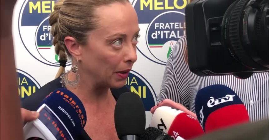 """M5s, Meloni: """"Conte ha trovato il suo quid per Grillo"""""""