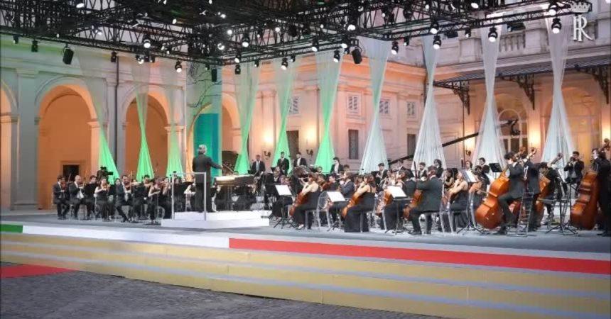 Il Presidente Mattarella al Concerto in occasione del G20 Cultura