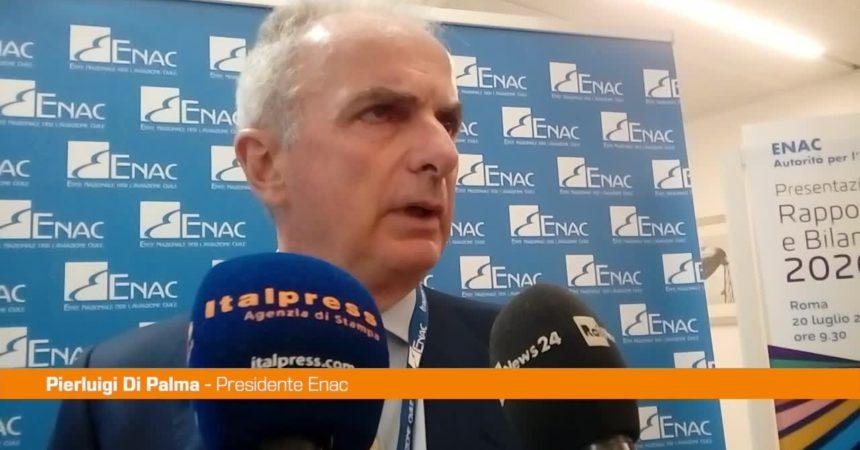 """Trasporto Aereo, Di Palma: """"Da Enac impegno anche per la sicurezza sanitaria"""""""