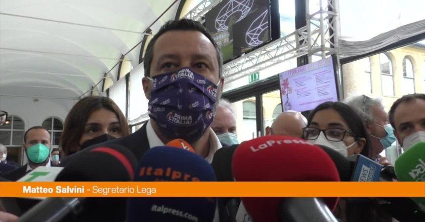 """Amministrative, Salvini: """"Il centrodestra è unito"""""""