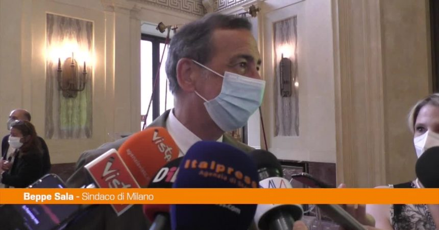 """Sala: """"Milano non è malata, lo diranno i cittadini se la vedono così"""""""