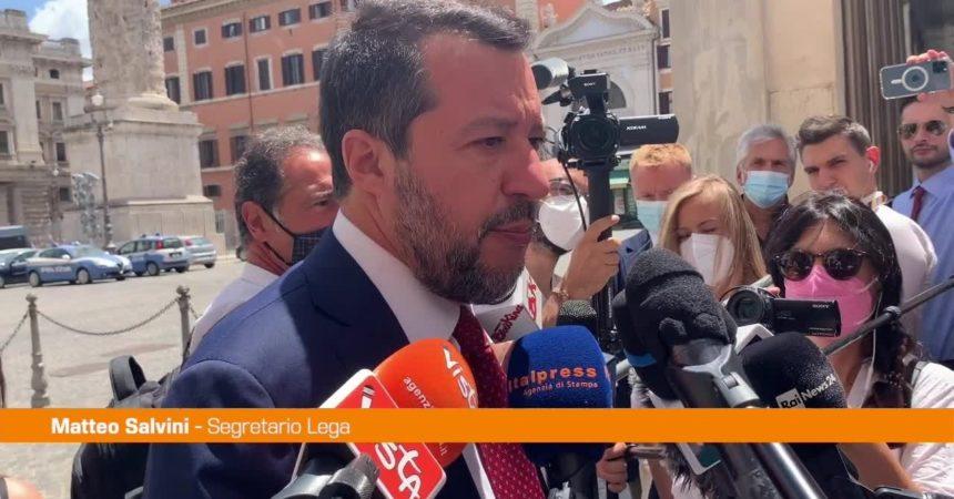"""Ddl Zan, Salvini: """"Se Letta si ostina affossa la legge"""""""
