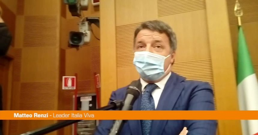 """Renzi: """"Non fu pazzia sostituire Conte con Draghi"""""""