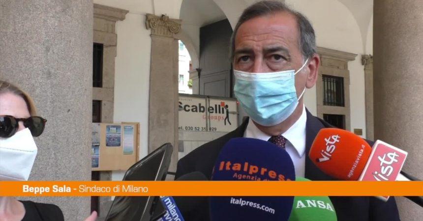 """Amministrative Milano, Sala: """"Dopo di me mi auguro sindaco donna"""""""