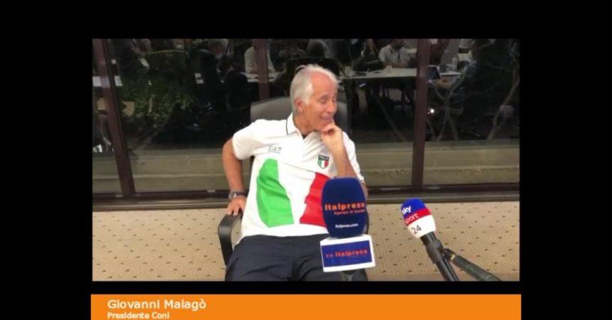 """Malagò """"Folle non rinoscere ius sportivo"""""""