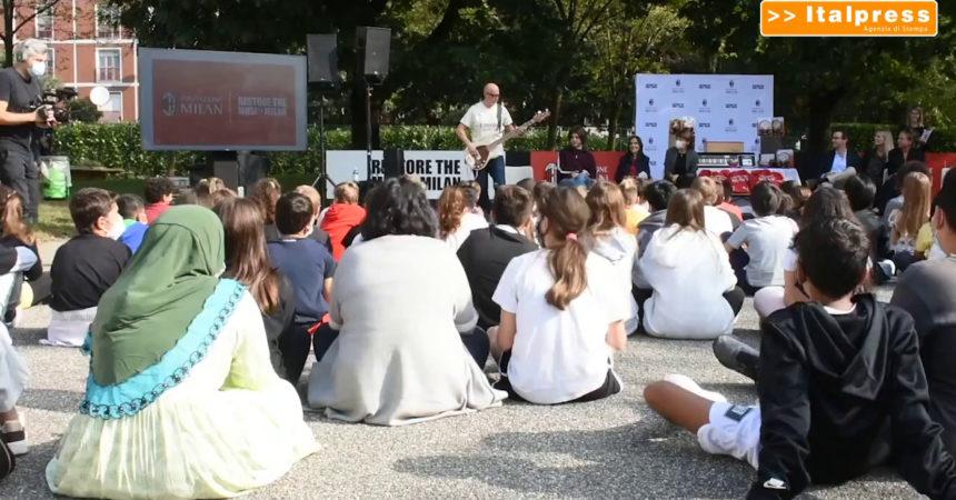 """""""Restore the Music Milan"""", musica e sport contro la povertà educativa"""