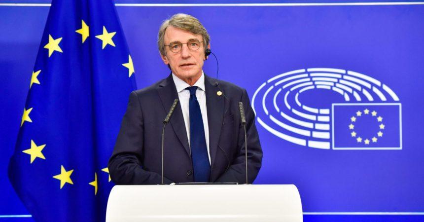 """Sassoli """"Rafforzare la centralità del Parlamento Europeo"""""""