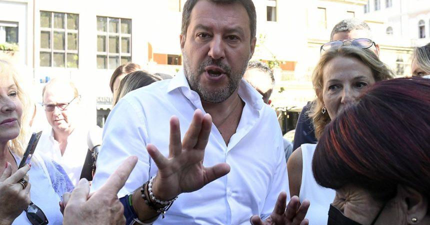 """Salvini """"Su voto emendamenti green pass avevo informato Draghi"""""""