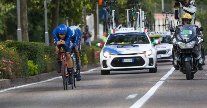Agli Europei di ciclismo oro per l'Italia di Ganna nel team relay