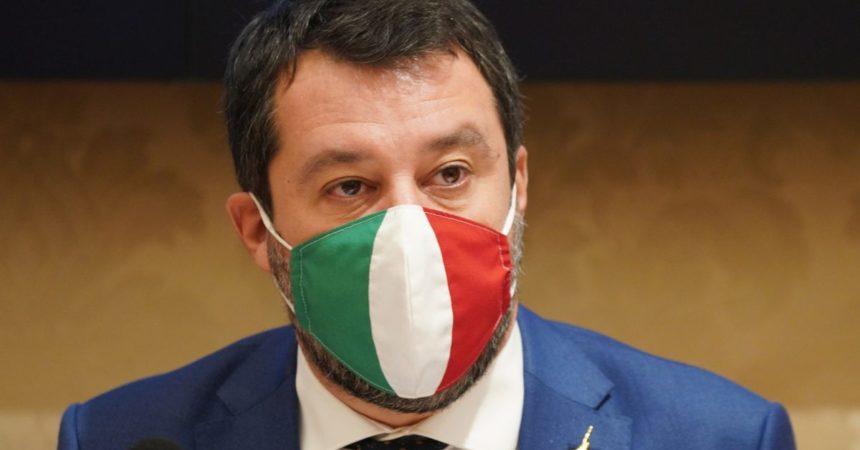 """Governo, Salvini """"Mi batterò per Quota 100 e nucleare"""""""