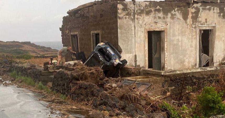Tromba d'aria a Pantelleria. Due morti e nove feriti, uno è grave