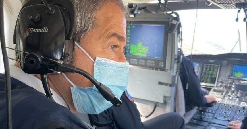 Tromba d'aria a Pantelleria, Musumeci diretto sull'Isola