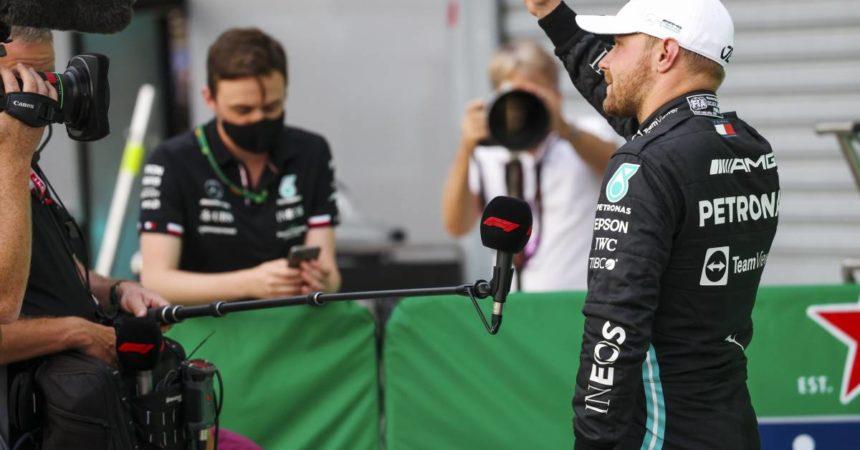 Sprint Qualifying di Monza a Bottas ma in pole va Verstappen