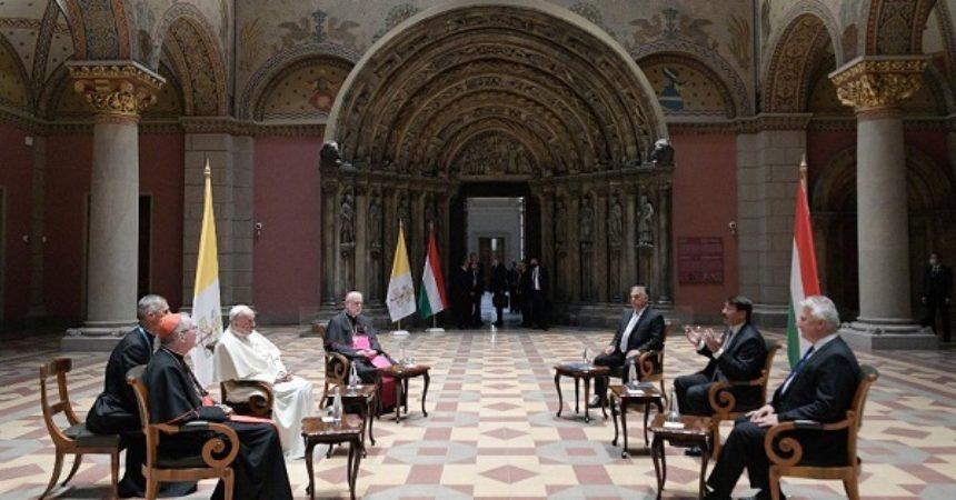 Papa incontra Orban, colloquio cordiale su famiglia e ambiente