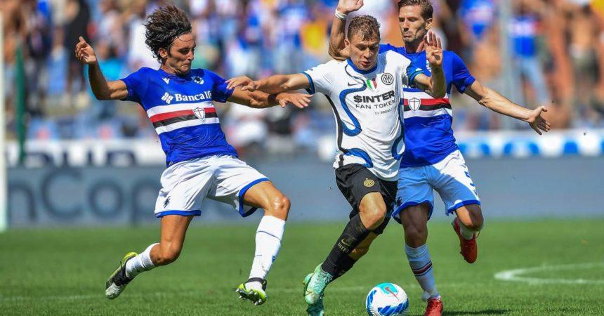 L'Inter frena a Marassi, è 2-2 contro la Samp
