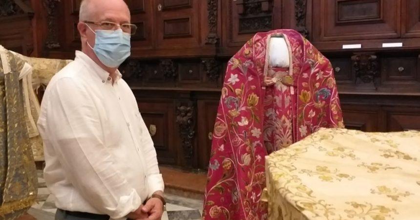 Il prefetto di Palermo Forlani in visita al museo di Casa Professa