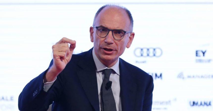 """Letta """"Favorevoli a riforma del catasto, fidarsi di Draghi"""""""