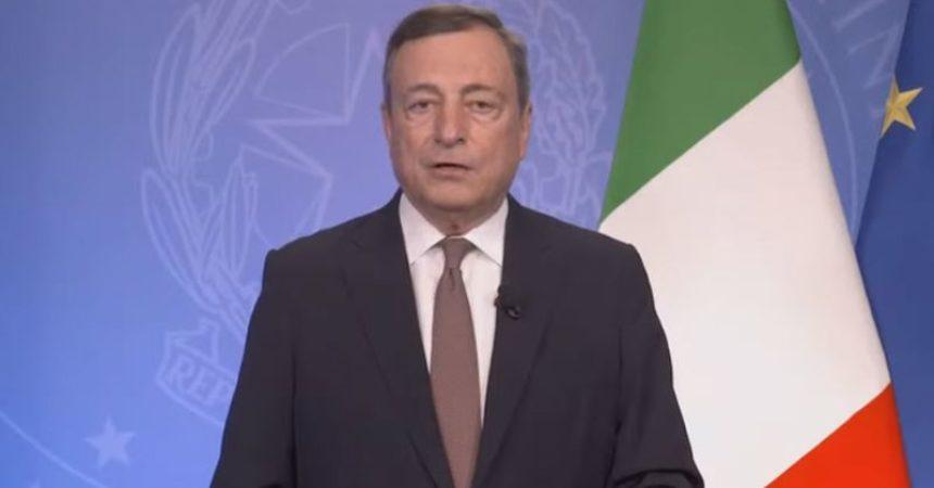 """Clima, Draghi """"Dobbiamo agire molto più velocemente"""""""