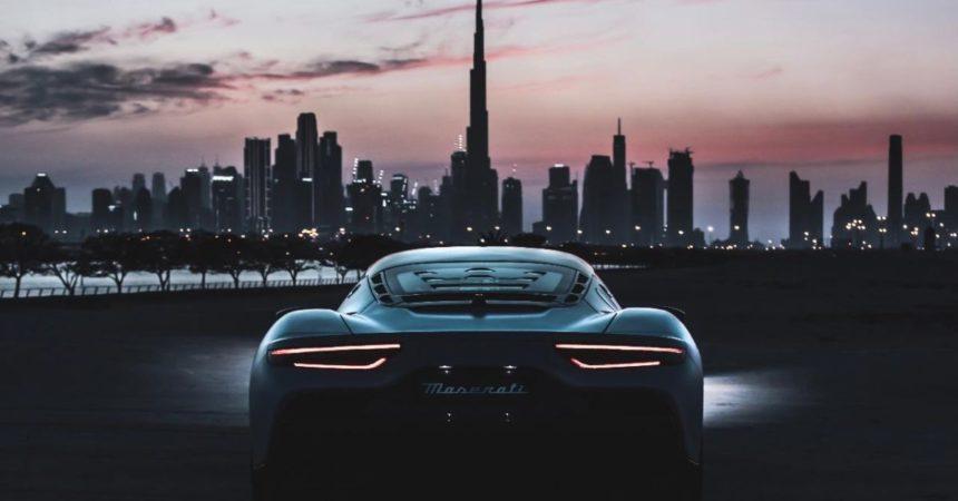 Maserati ad Expo 2020 Dubai, appuntamento al Padiglione Italia