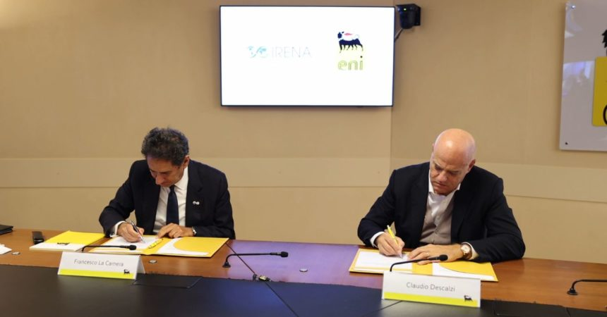 Transizione energetica, accordo tra ENI e Agenzia Energie Rinnovabili