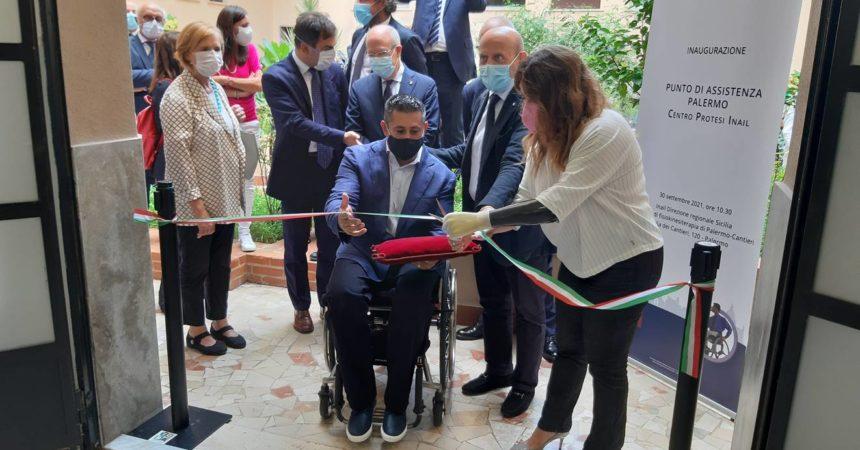 Inail, aperto a Palermo un nuovo punto di assistenza per disabili gravi