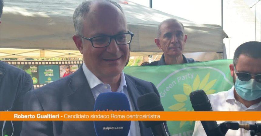 """Roma, Gualtieri: """"Con Europa Verde per la transizione ecologica"""""""