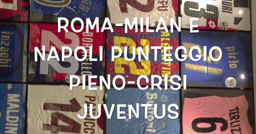 Il Pallone racconta – Roma, Milan e Napoli super, crisi Juve