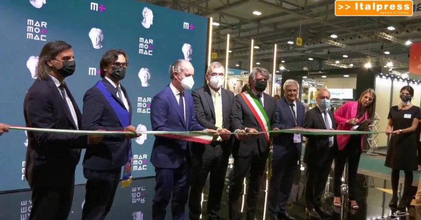 Inaugurata a VeronaFiere la 55esima edizione di Marmomac