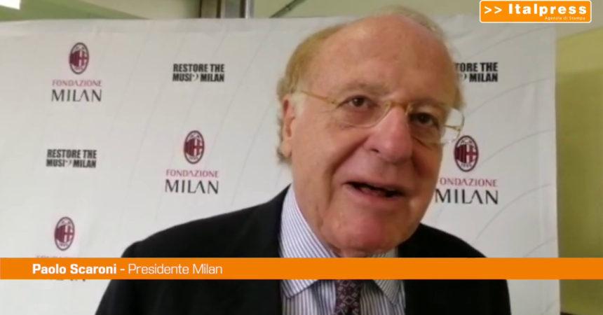 """Scaroni: """"Visto un Milan resiliente"""""""