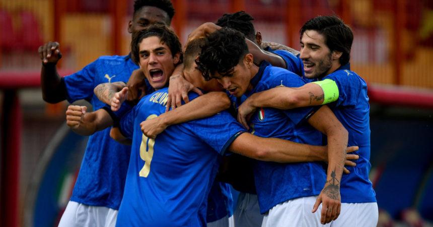 Colombo-gol, l'Under 21 batte 1-0 il Montenegro