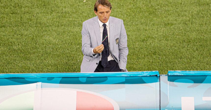 """Mancini """"Ci sarà da correre"""", Chiellini """"Svizzera forte"""""""