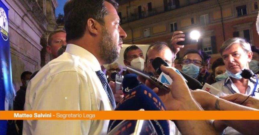"""Vaccino, Salvini """"Non siamo tra tifoserie"""""""